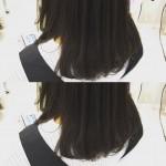 暗髪でも重たく見えないカラー☆イルミナカラー