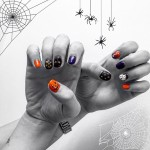 Halloween nail .・★👻
