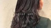 春カラー[ Violet ash ]