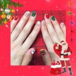 Christmas nail :.*☆  …??