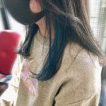 BLUE × イアリングカラー